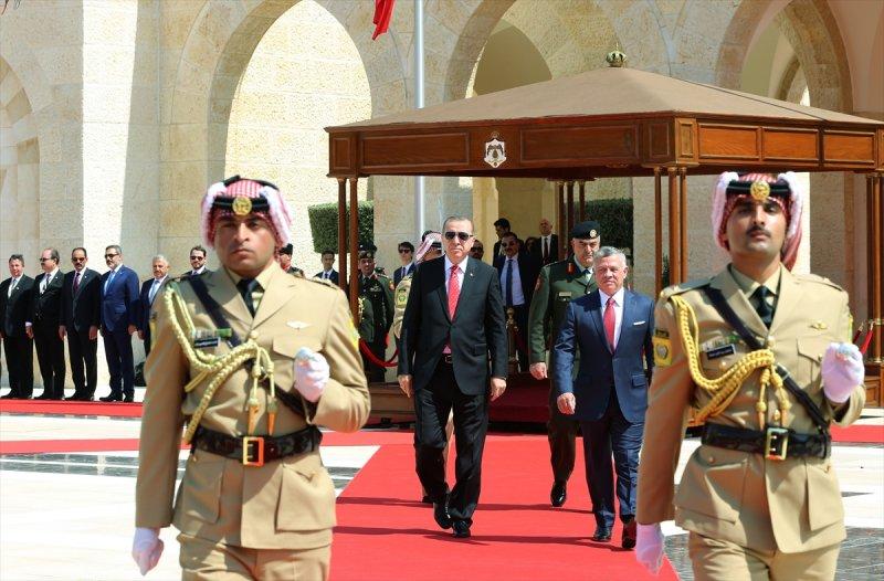 Cumhurbaşkanı Recep Tayyip Erdoğan Ürdün'e gitti 1