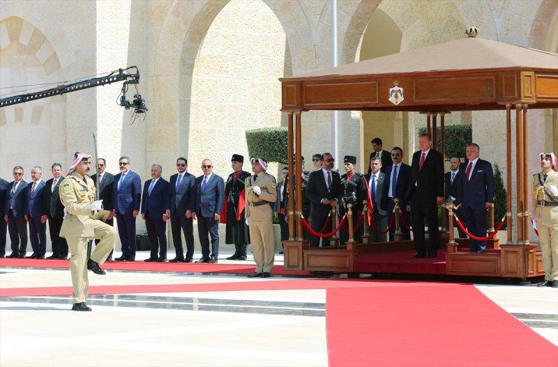 Cumhurbaşkanı Recep Tayyip Erdoğan Ürdün'e gitti 3