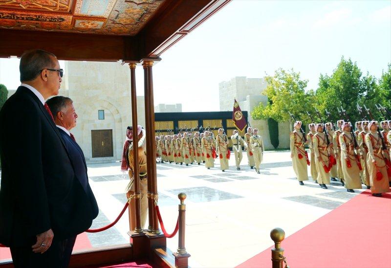 Cumhurbaşkanı Recep Tayyip Erdoğan Ürdün'e gitti 4