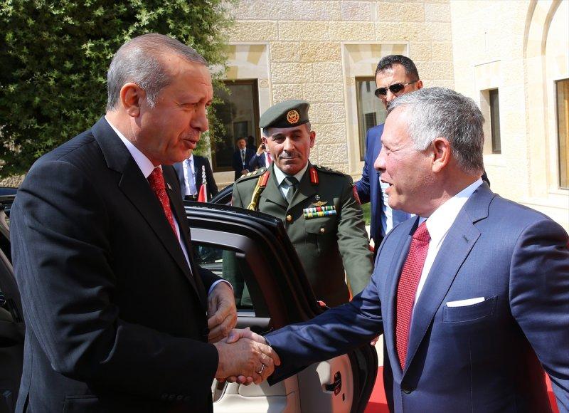 Cumhurbaşkanı Recep Tayyip Erdoğan Ürdün'e gitti 8