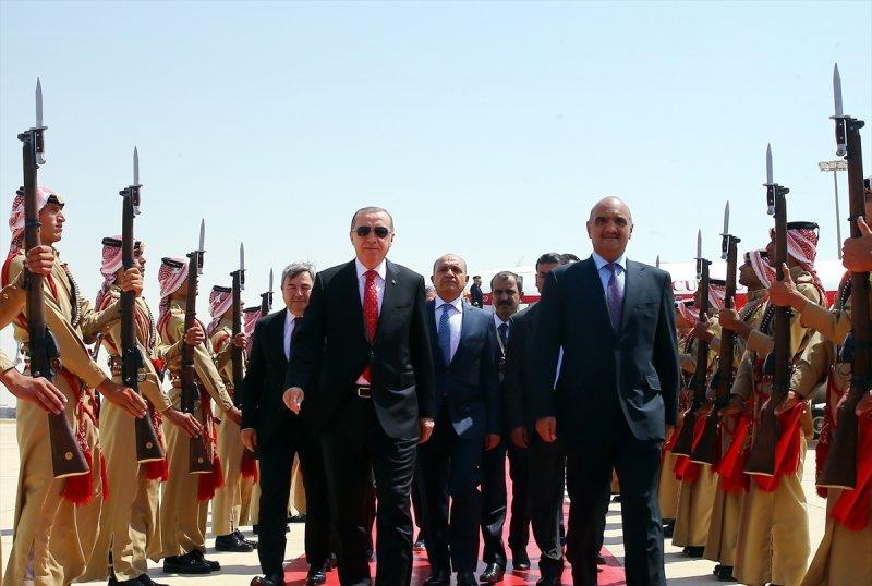 Cumhurbaşkanı Recep Tayyip Erdoğan Ürdün'e gitti 9