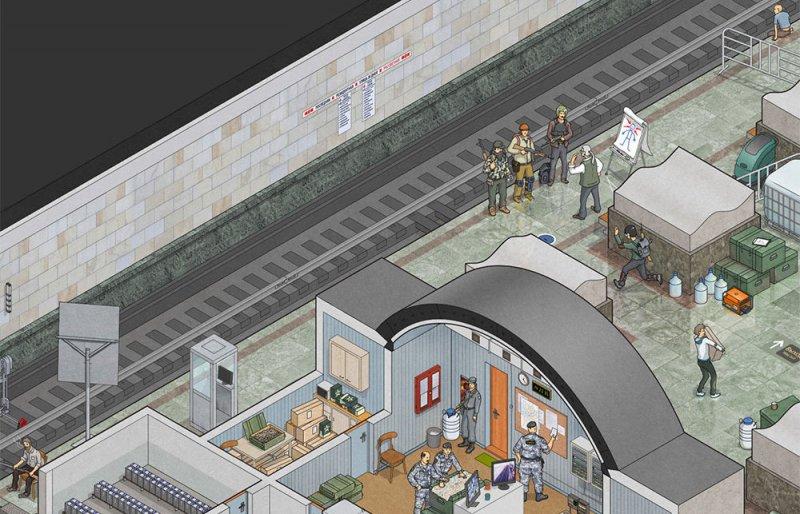 Moskova Metrosu zombi istilasına karşı da dayanıklı 2
