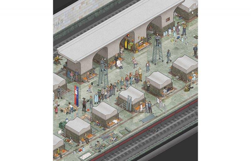 Moskova Metrosu zombi istilasına karşı da dayanıklı 4