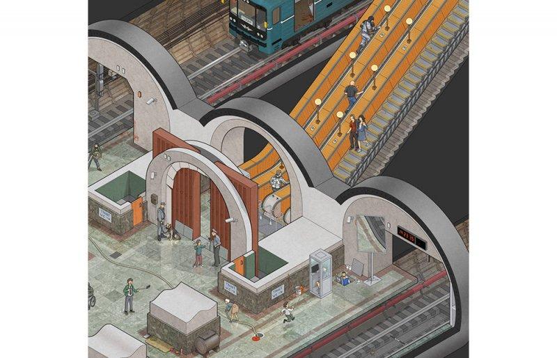 Moskova Metrosu zombi istilasına karşı da dayanıklı 8