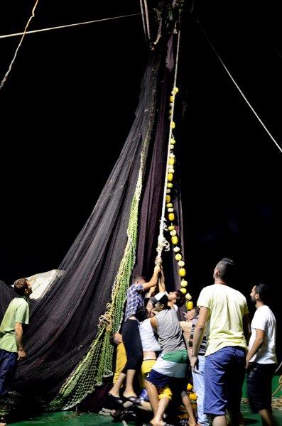 İstanbullu balıkçılar 'vira bismillah' dedi 7