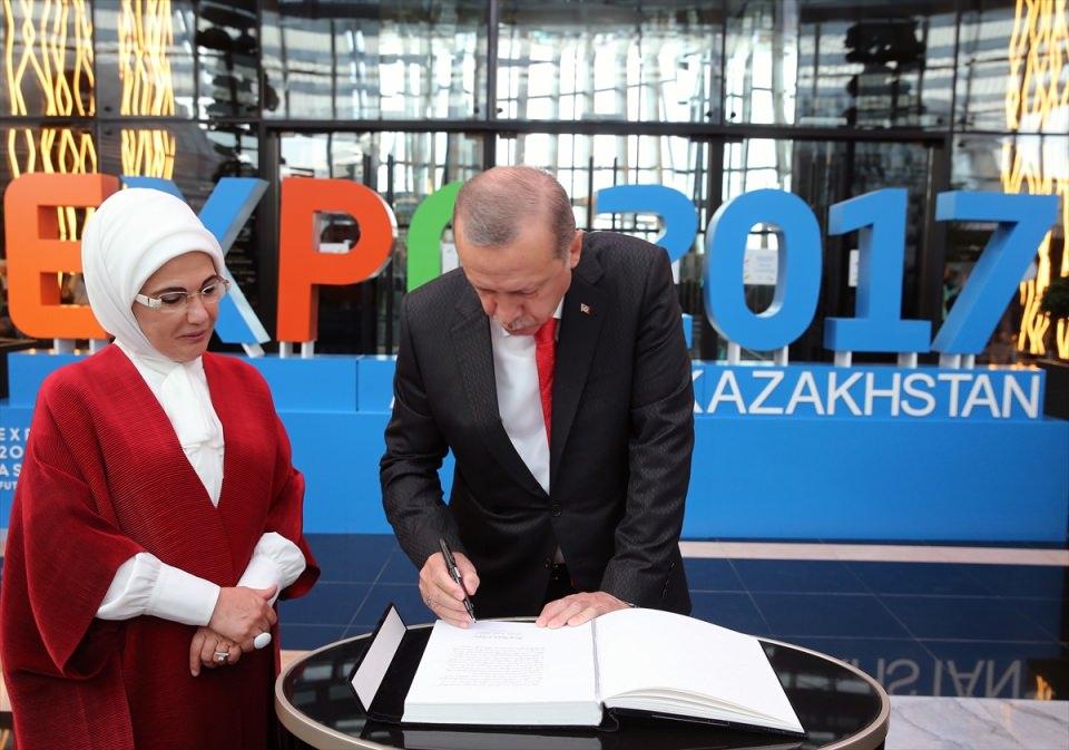 Kazakistan'dan renki görüntüler 1