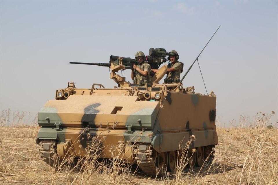 TSK'dan Irak sınırında nefes kesen tatbikat! 12
