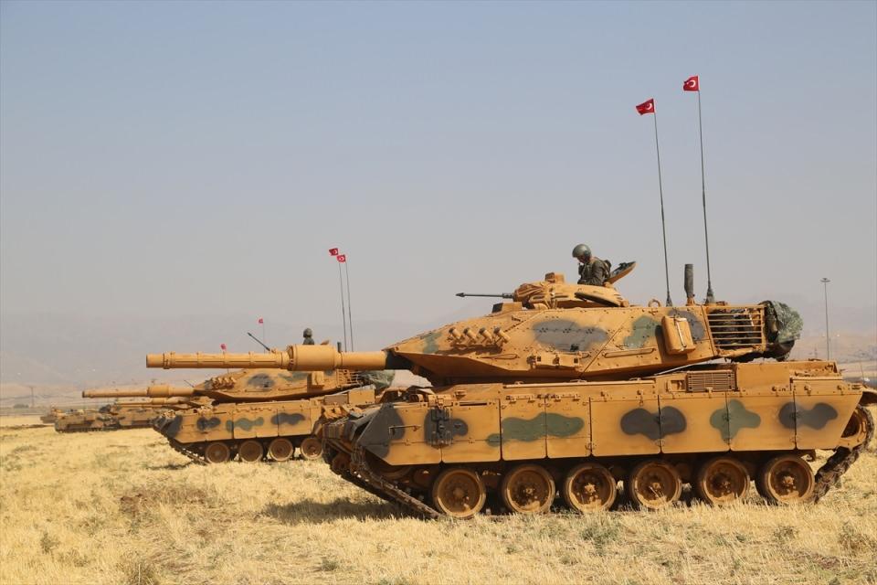 TSK'dan Irak sınırında nefes kesen tatbikat! 7