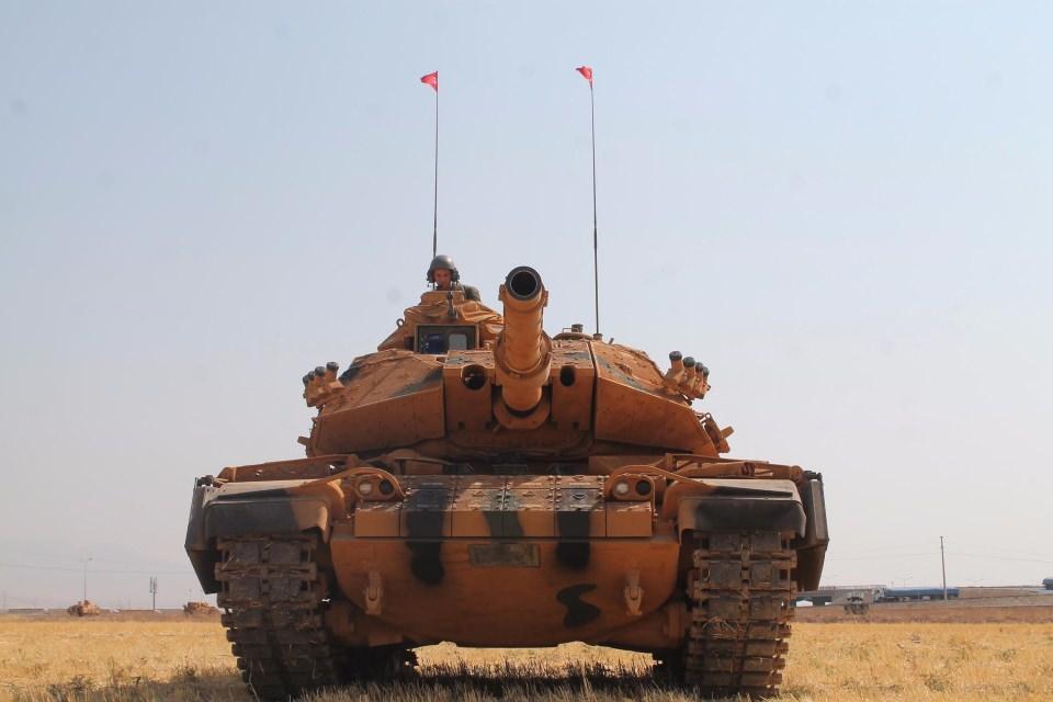 TSK'dan Irak sınırında nefes kesen tatbikat! 8