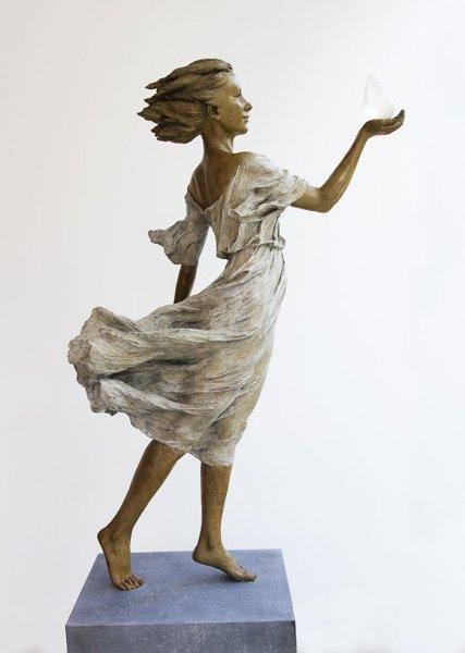 Çinli sanatçının gerçekçi heykelleri 1