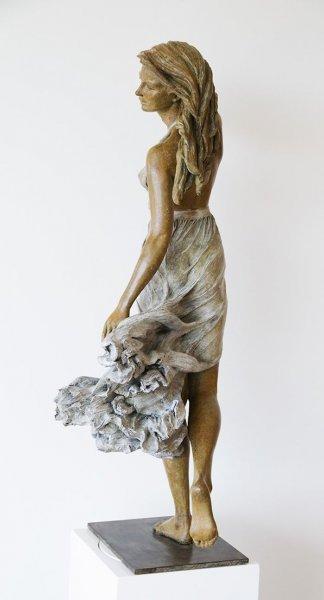 Çinli sanatçının gerçekçi heykelleri 2