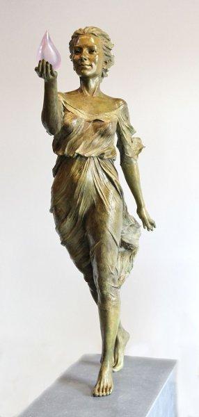 Çinli sanatçının gerçekçi heykelleri 3