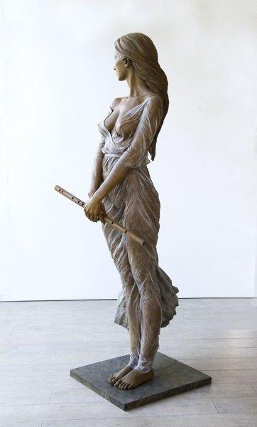 Çinli sanatçının gerçekçi heykelleri 6