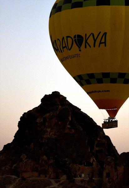 Kapadokya'da Çinli turist yoğunluğu 10