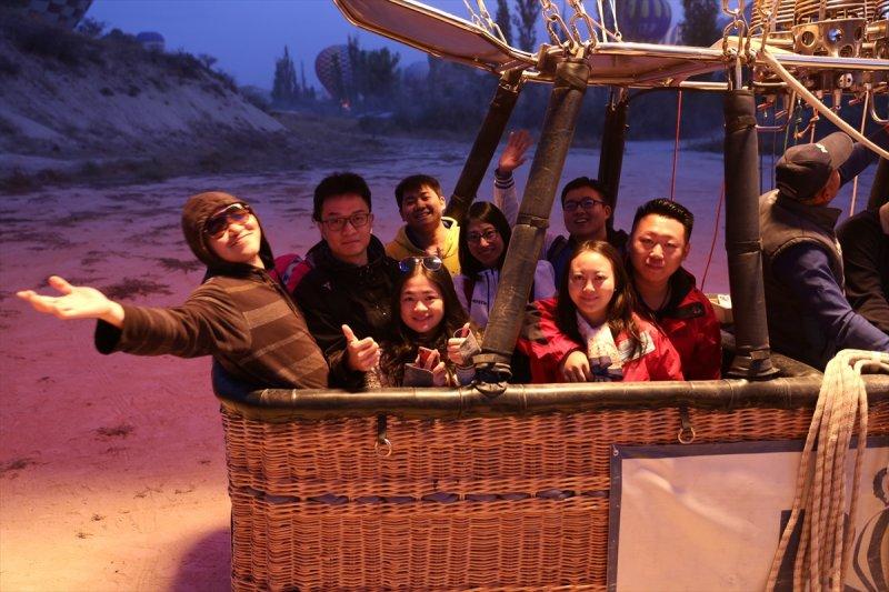 Kapadokya'da Çinli turist yoğunluğu 8