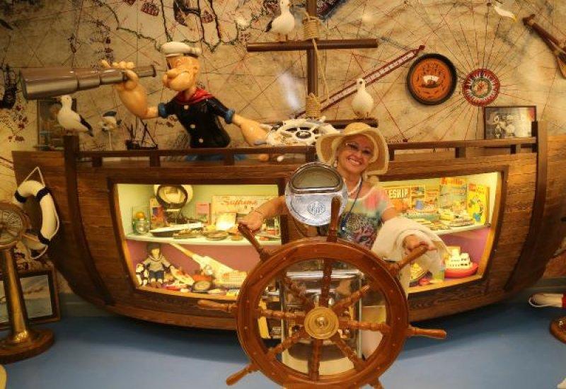 Antalya'daki oyuncak müzesine ilgi yoğun 2