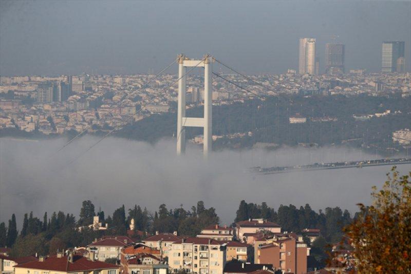 İstanbul'da sis etkili oldu 2