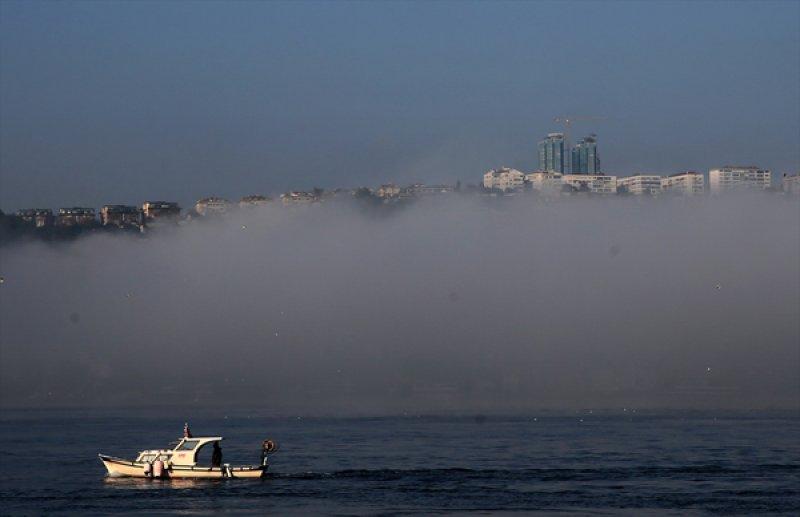 İstanbul'da sis etkili oldu 7