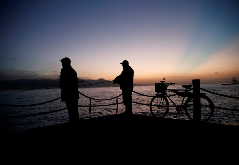 İzmir'de gün batımı bir başka! 10