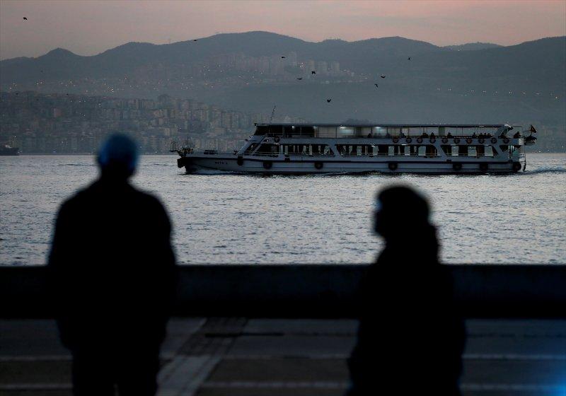 İzmir'de gün batımı bir başka! 5