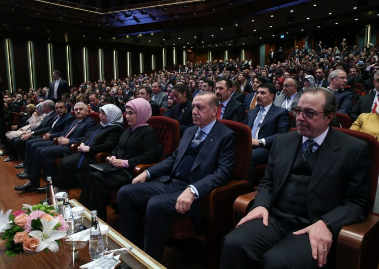 Cumhurbaşkanı Erdoğan Buğday filminin galasına ev sahipliği yaptı 4