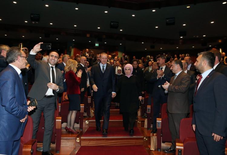 Cumhurbaşkanı Erdoğan Buğday filminin galasına ev sahipliği yaptı 5