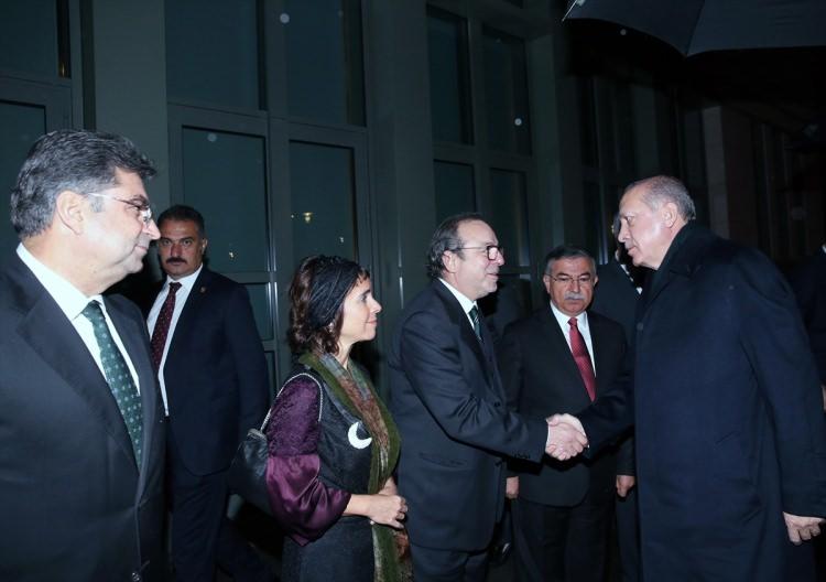 Cumhurbaşkanı Erdoğan Buğday filminin galasına ev sahipliği yaptı 6