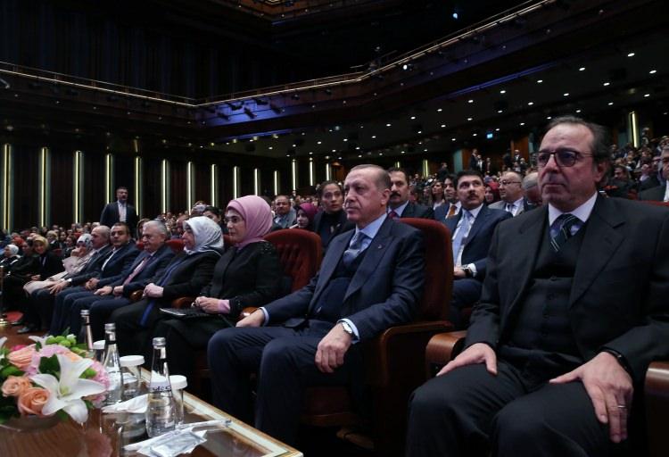 Cumhurbaşkanı Erdoğan Buğday filminin galasına ev sahipliği yaptı 7