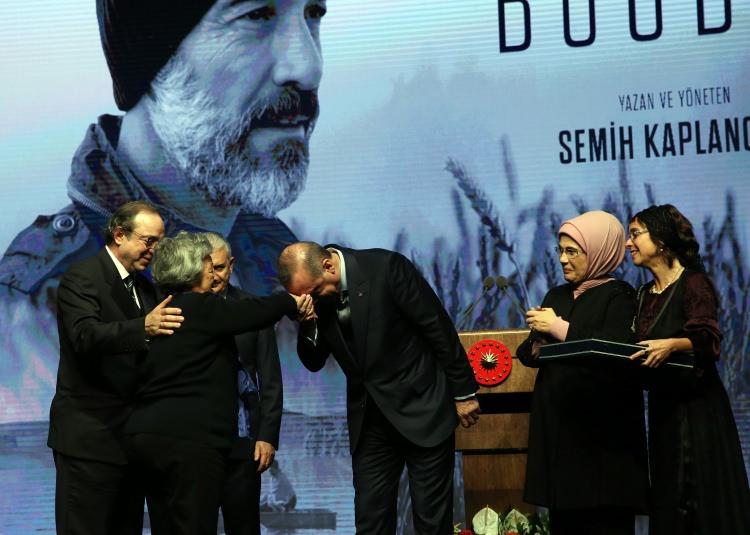 Cumhurbaşkanı Erdoğan Buğday filminin galasına ev sahipliği yaptı 9