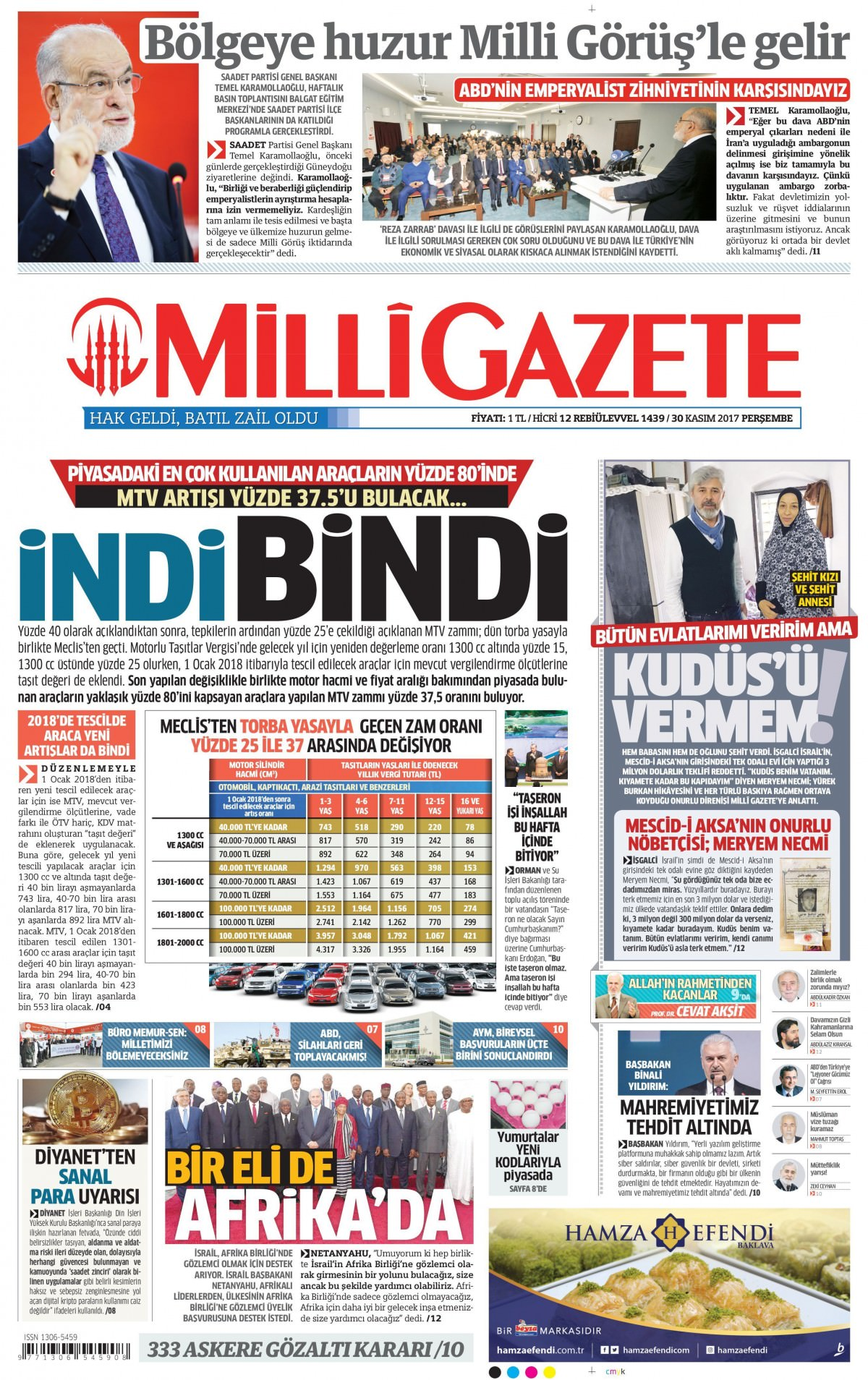 Gazeteler bugün hangi manşeti attı 10