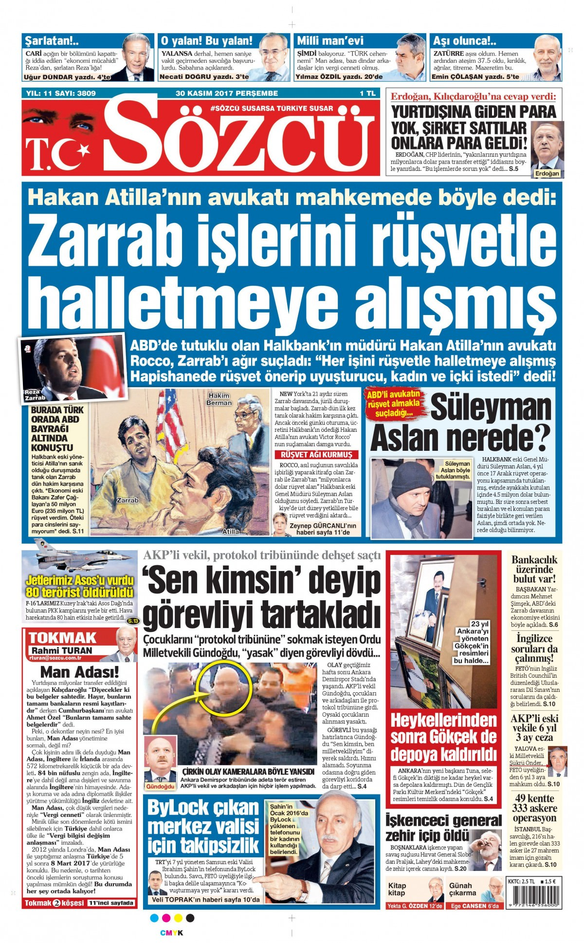 Gazeteler bugün hangi manşeti attı 13