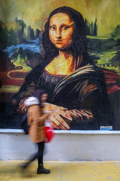 Van'da atıklardan sanat eserleri sokakları süslüyor 12