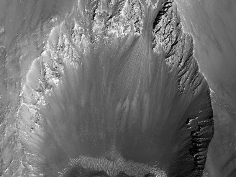 Mars'tan muhteşem görüntüler 9