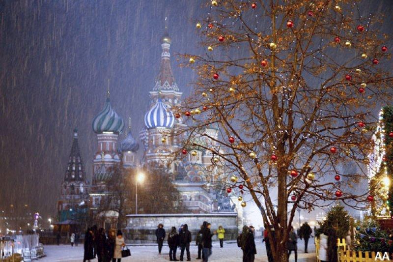 Rusya'da hayat 'kar'a rağmen durmuyor 5