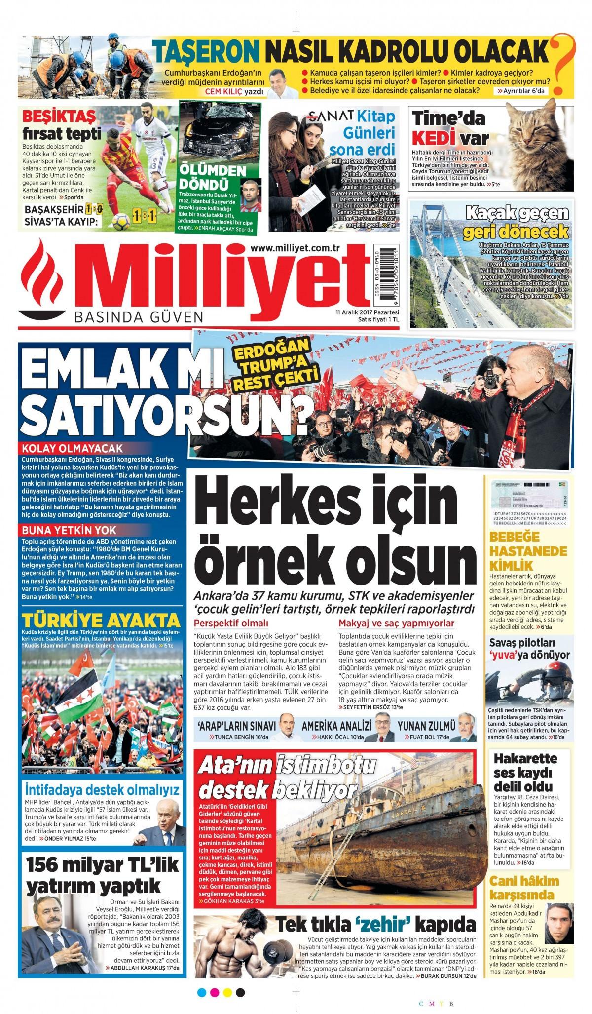 Gazeteler bugün ne yazdı? 3