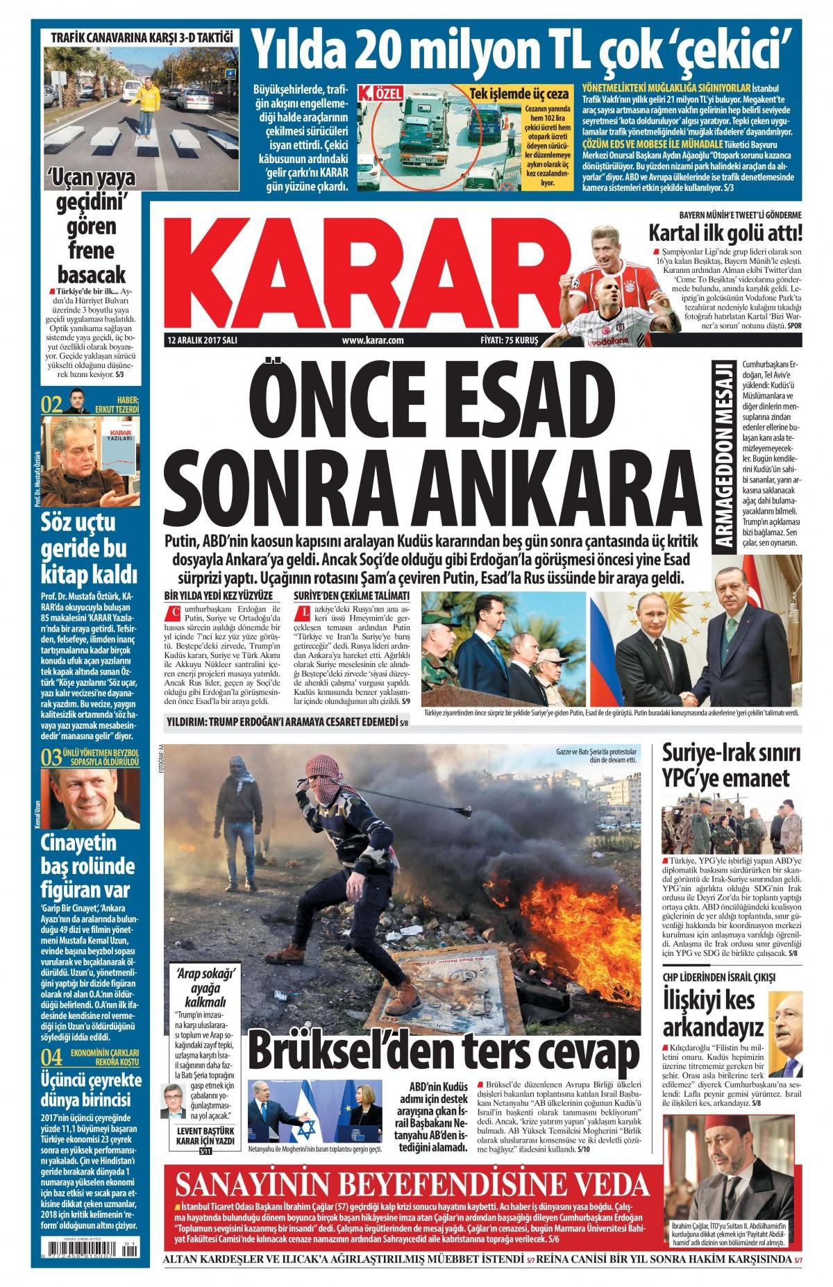 Günün gazete manşetleri! 1
