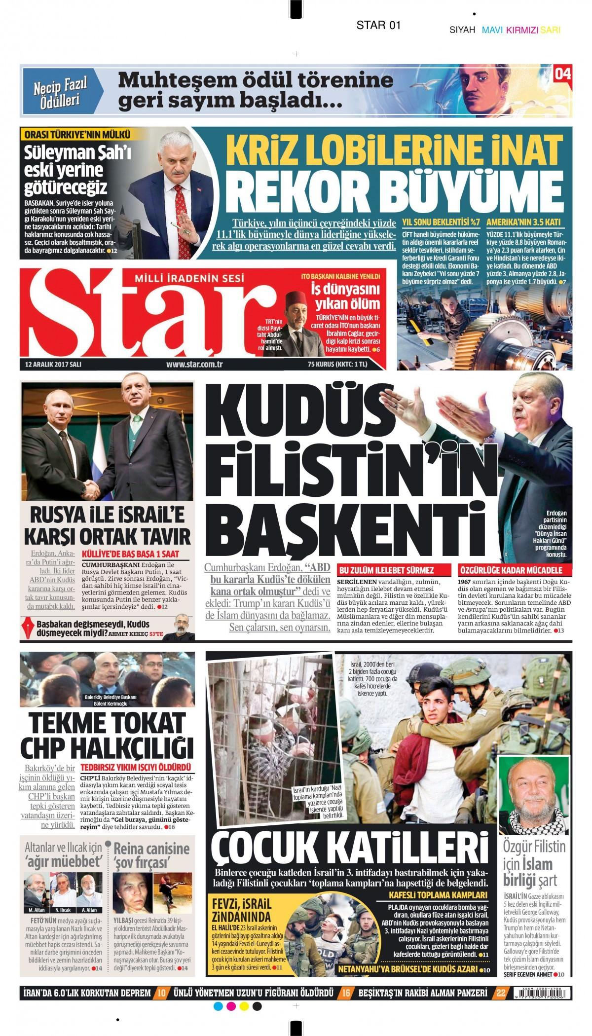 Günün gazete manşetleri! 21