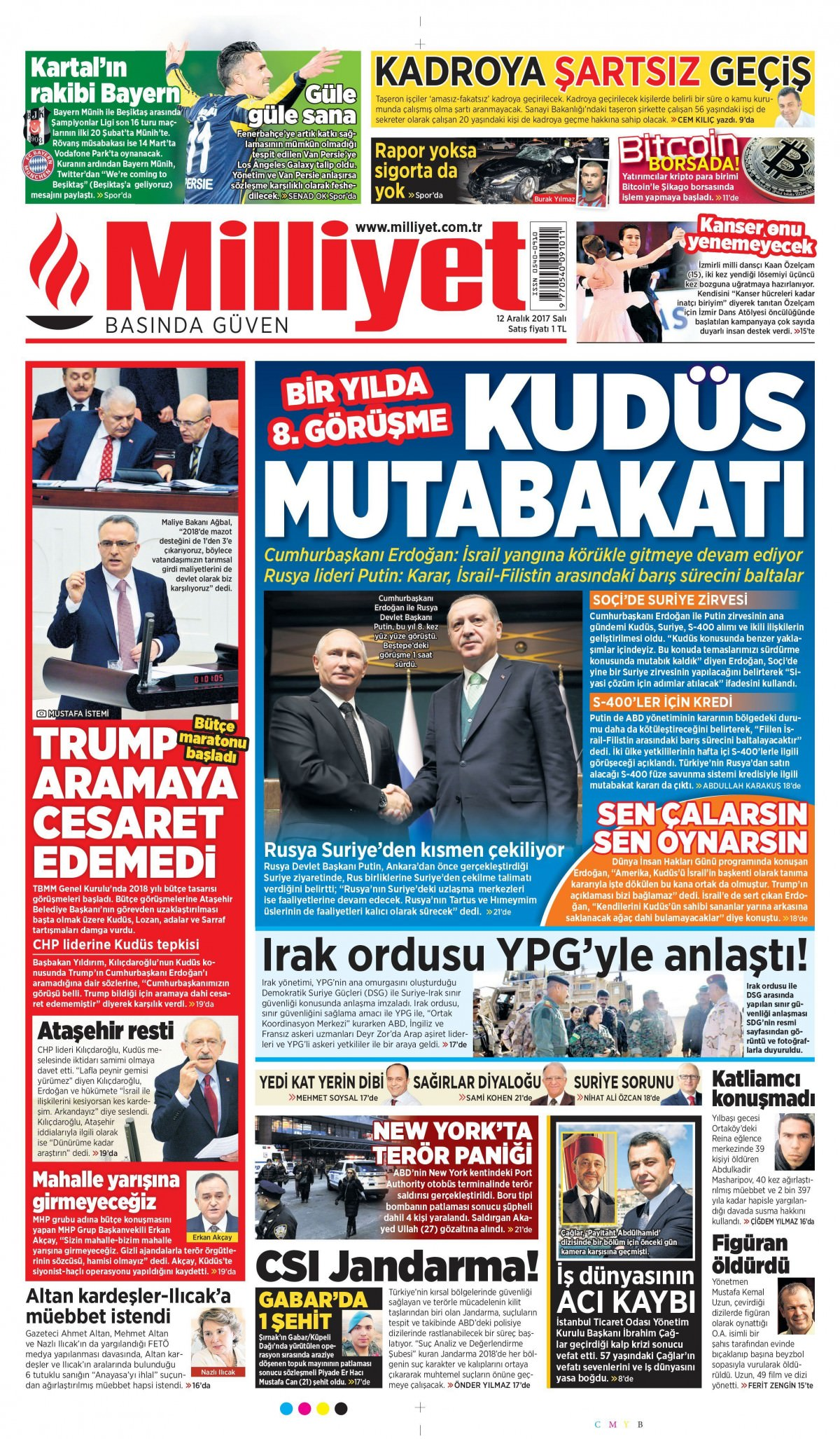 Günün gazete manşetleri! 5