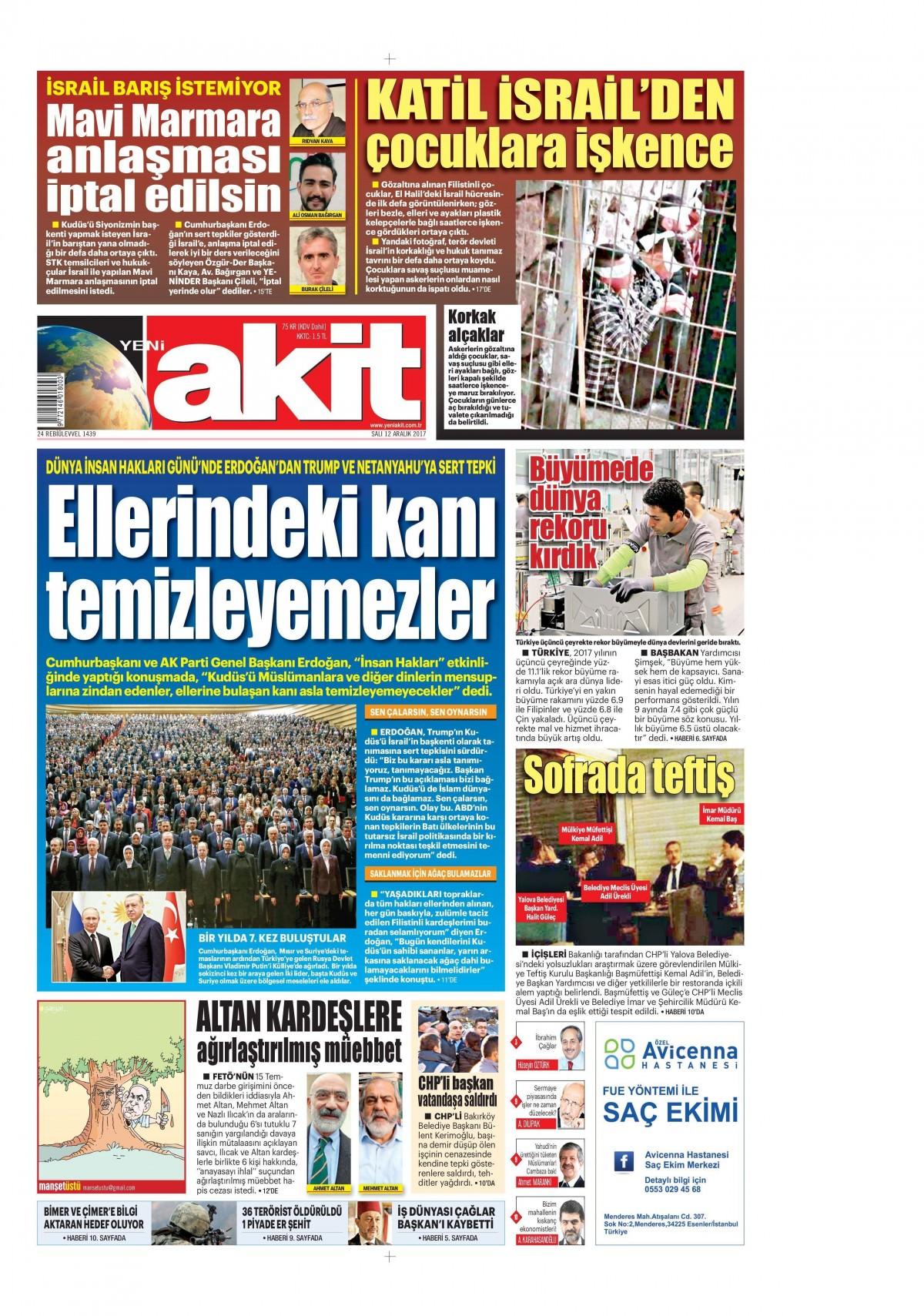 Günün gazete manşetleri! 7