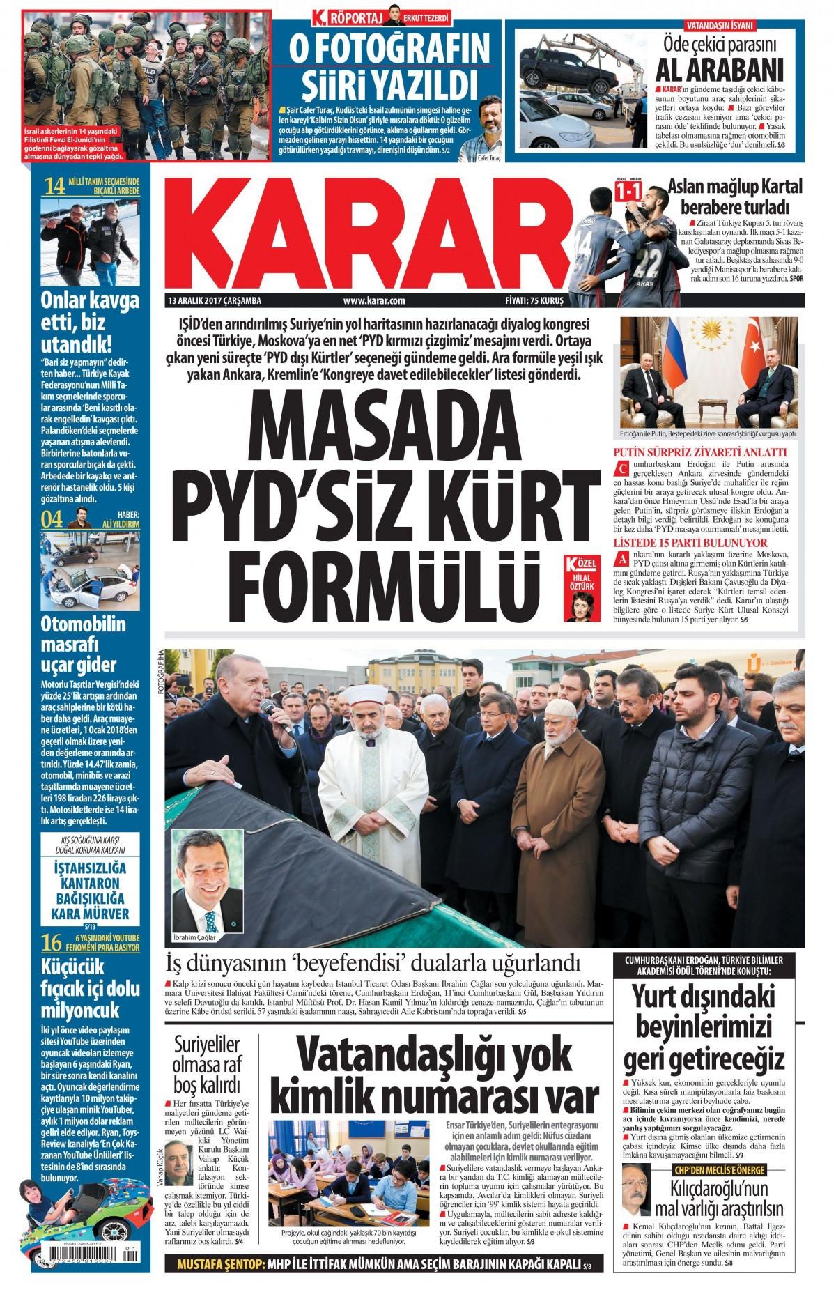 Gazeteler hangi manşetleri attı! 12