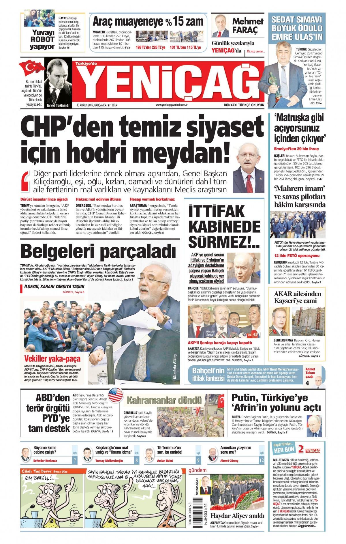 Gazeteler hangi manşetleri attı! 9