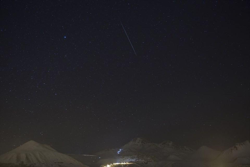 Geminid meteor yağmuru büyüledi 9