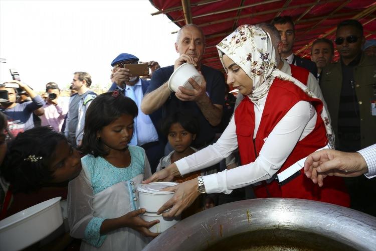 Başbakan Yıldırım'dan Arakanlı müslümanlara ziyaret 13