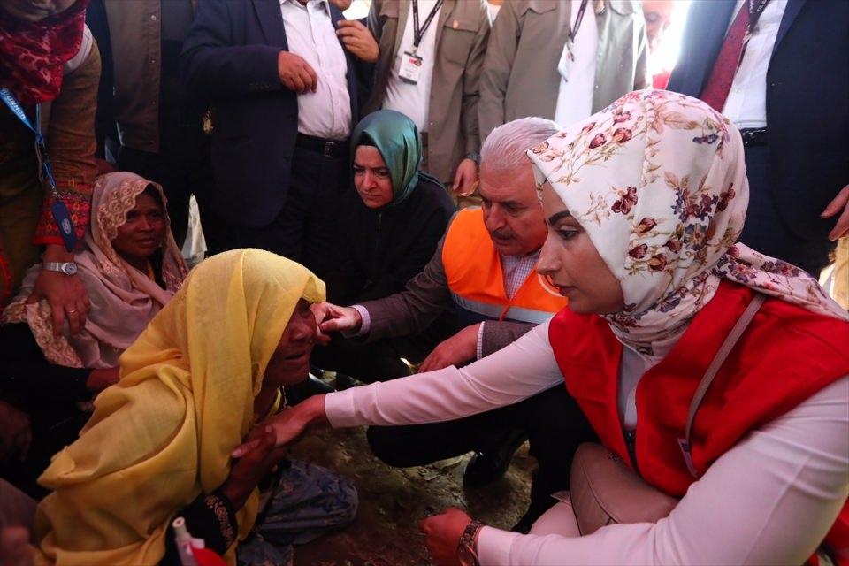 Başbakan Yıldırım'dan Arakanlı müslümanlara ziyaret 18