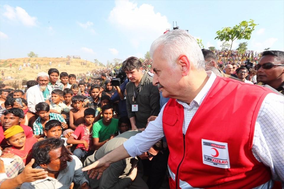 Başbakan Yıldırım'dan Arakanlı müslümanlara ziyaret 2