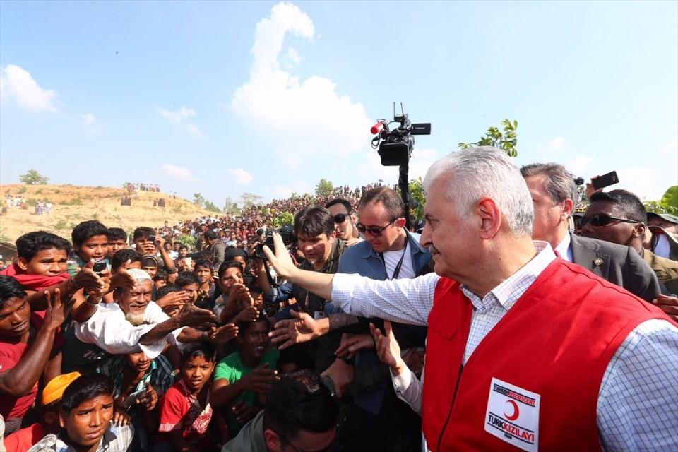 Başbakan Yıldırım'dan Arakanlı müslümanlara ziyaret 21