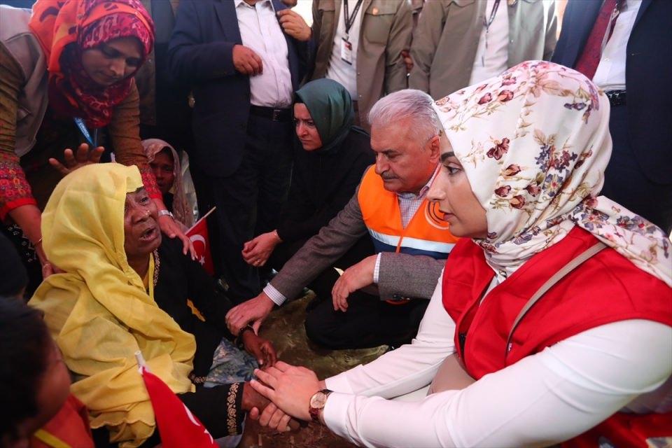 Başbakan Yıldırım'dan Arakanlı müslümanlara ziyaret 24