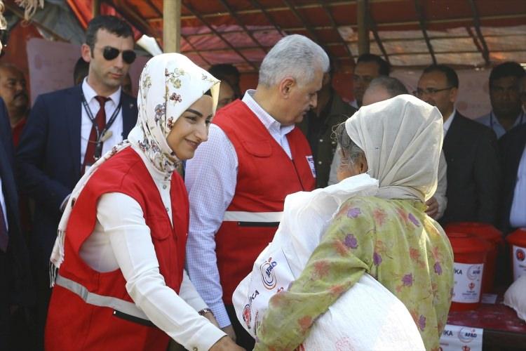 Başbakan Yıldırım'dan Arakanlı müslümanlara ziyaret 3