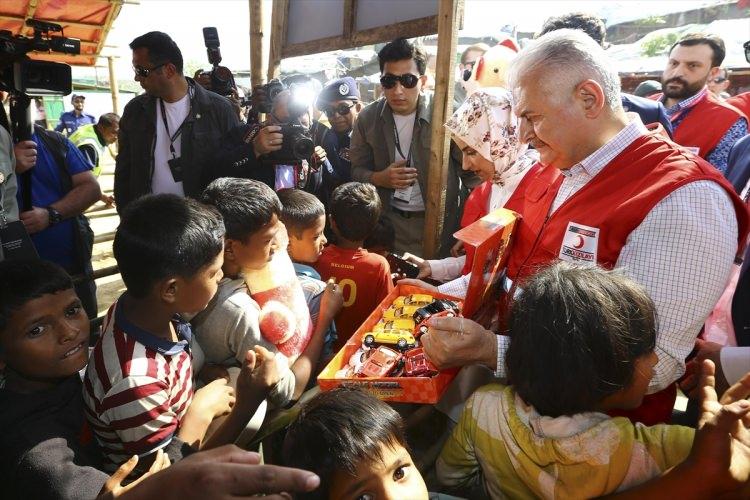 Başbakan Yıldırım'dan Arakanlı müslümanlara ziyaret 4