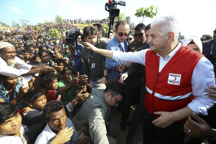 Başbakan Yıldırım'dan Arakanlı müslümanlara ziyaret 7